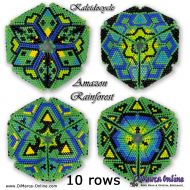 Tutorial Amazon Rainforest Kaleidocycle incl. Basic Tutorial (download link per e-mail)