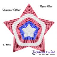 Tutorial America 3D Peyote Star + Basic Tutorial Little 3D Peyote Star (download link per e-mail)
