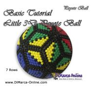 Basic Tutorial - Little 3D Peyote Ball (download link per e-mail)