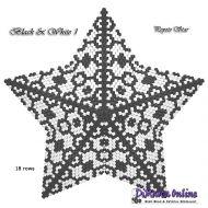 Tutorial Black & White 1 - 3D Peyote Star + Basic Tutorial Little 3D Peyote Star (download link per e-mail)