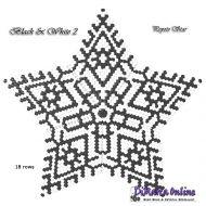 Tutorial Black & White 2 - 3D Peyote Star + Basic Tutorial Little 3D Peyote Star (download link per e-mail)