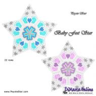Tutorial Baby Feet 3D Peyote Star + Basic Tutorial Little 3D Peyote Star (download link per e-mail)