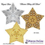 Tutorial Bicone Bling All Stars 3D Peyote Star + Basic Tutorial Little 3D Peyote Star (download link per e-mail)