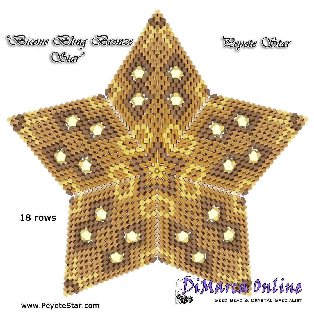 Digital Download 10 Delta Peyote Star No
