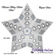 Kit Bicone Bling Silver - 3D Peyote Star