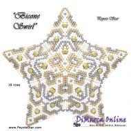 Tutorial Bicone Swirl 3D Peyote Star + Basic Tutorial Little 3D Peyote Star (download link per e-mail)
