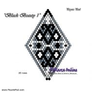 Tutorial Black Beauty 1 - 3D Peyote Pod + Basic Tutorial Little 3D Peyote Pod (download link per e-mail)