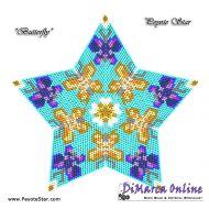 Tutorial Butterflies 3D Peyote Star + Basic Tutorial Little 3D Peyote Star (download link per e-mail)