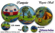 Tutorial 15 rows - Campsite Peyote Ball incl. Basic Tutorial (download link per e-mail)
