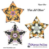 Tutorial Cats All Stars 3D Peyote Star + Basic Tutorial Little 3D Peyote Star (download link per e-mail)