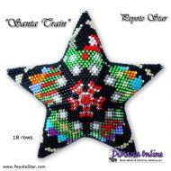 Tutorial Christmas Train 3D Peyote Star + Basic Tutorial Little 3D Peyote Star (download link per e-mail)