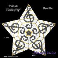 Tutorial Musical Treble Clef 3D Peyote Star + Basic Tutorial Little 3D Peyote Star (download link per e-mail)