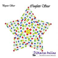 FREE TUTORIAL Confetti 3D Peyote Star (download link per e-mail)