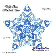 Tutorial Delft Blue Windmill - 3D Peyote Star + Basic Tutorial Little 3D Peyote Star (download link per e-mail)