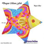 Tutorial Dragon Moon Fish 3D Peyote Star + Basic Tutorial Little 3D Peyote Star (download link per e-mail)