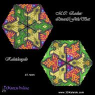 Tutorial M.C. Escher Lizard/Fish/Bat Kaleidocycle incl. Basic Tutorial (download link per e-mail)