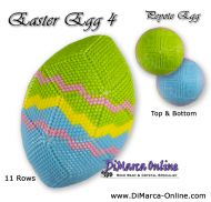 Tutorial 11 rows - Easter Egg 4 Peyote Egg incl. Basic Tutorial (download link per e-mail)