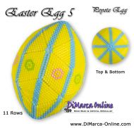 Tutorial 11 rows - Easter Egg 5 Peyote Egg incl. Basic Tutorial (download link per e-mail)