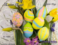 Tutorial 11 rows - Easter Eggs All 6 x Peyote Egg incl. Basic Tutorial (download link per e-mail)