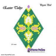 Tutorial Easter Tulips 3D Peyote Pod + Basic Tutorial Little 3D Peyote Pod (download link per e-mail)