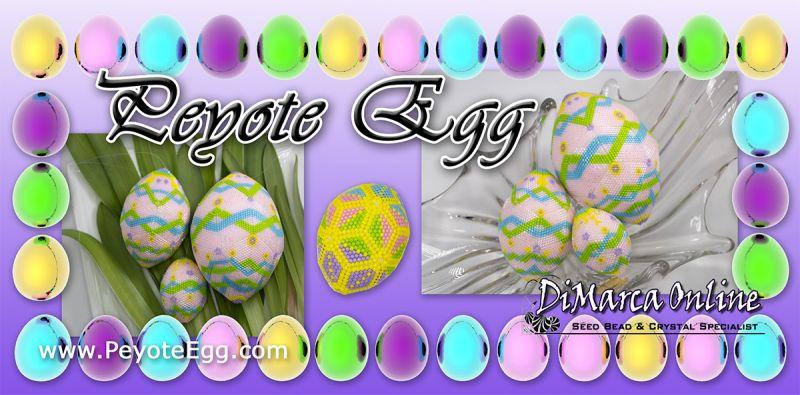 3D Peyote Eggs
