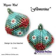 Tutorial Flowerina 3D Peyote Pod + Basic Tutorial (download link per e-mail)