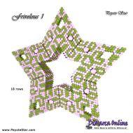 Tutorial Frivolous 1 - 3D Peyote Star + Basic Tutorial Little 3D Peyote Star (download link per e-mail)