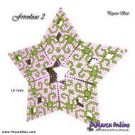 Tutorial Frivolous 2 - 3D Peyote Star + Basic Tutorial Little 3D Peyote Star (download link per e-mail)
