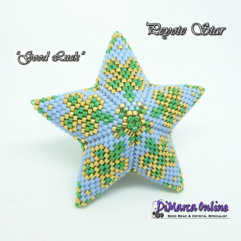 3D Peyote Star Patterns & Tutorials