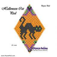Tutorial Halloween Cat 3D Peyote Pod + Basic Tutorial Little 3D Peyote Pod (download link per e-mail)