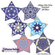 Tutorial HNY 2018-2019 All Stars 3D Peyote Star + Basic Tutorial Little 3D Peyote Star (download link per e-mail)