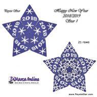 Tutorial HNY 2018-2019 Star 1 - 3D Peyote Star + Basic Tutorial Little 3D Peyote Star (download link per e-mail)