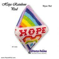 Tutorial Hope Rainbow - 3D Peyote Pod + Basic Tutorial (download link per e-mail)