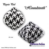Tutorial Houndstooth 3D Peyote Pod + Basic Tutorial (download link per e-mail)