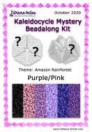 * PRE-ORDER * Kaleidocycle Beadalong Kit * October 2020 - Amazon Rainforest Kaleidocycle Purple/Pink