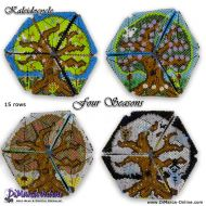 Tutorial Four Seasons Kaleidocycle incl. Basic Tutorial (download link per e-mail)