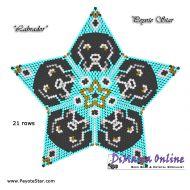Tutorial Labrador 3D Peyote Star + Basic Tutorial Little 3D Peyote Star (download link per e-mail)