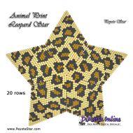 Tutorial Animal Print Leopard - 3D Peyote Star + Basic Tutorial Little 3D Peyote Star (download link per e-mail)