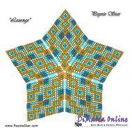 Tutorial Lozenge 3D Peyote Star + Basic Tutorial Little 3D Peyote Star (download link per e-mail)