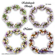 Tutorial Nature Kaleidocycle Bangle incl. Basic Tutorial (download link per e-mail)