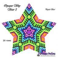 Tutorial Opaque Sky 3 - 3D Peyote Star + Basic Tutorial Little 3D Peyote Star (download link per e-mail)