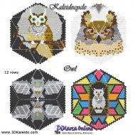 Tutorial Owl Kaleidocycle incl. Basic Tutorial (download link per e-mail)