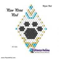 Tutorial Paw Print 3D Peyote Pod + Basic Tutorial Little 3D Peyote Pod (download link per e-mail)