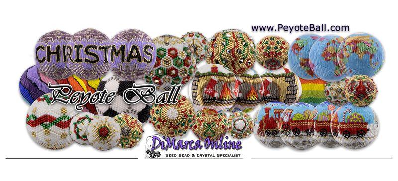 3D Peyote Balls