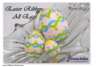 Tutorial 07, 11, 15 rows - Easter Ribbons 3 sizes Peyote Egg incl. Basic Tutorial (download link per e-mail)