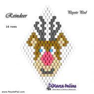 Tutorial Reindeer 3D Peyote Pod + Basic Tutorial Little 3D Peyote Pod (download link per e-mail)