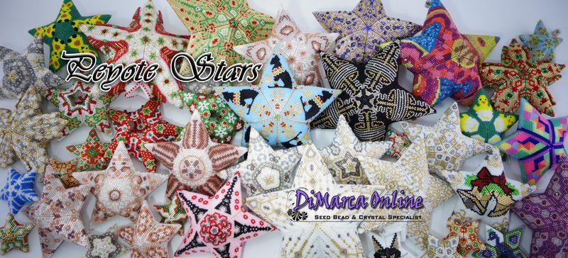 3D Peyote Stars