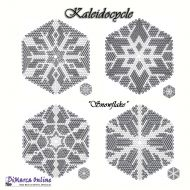 Tutorial Snowflake Kaleidocycle + Basic Tutorial (download link per e-mail)