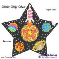 Tutorial Solar Sky 3D Peyote Star + Basic Tutorial Little 3D Peyote Star (download link per e-mail)