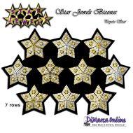 Tutorial Star Jewels Bicones x 10 - 3D Peyote Star + Basic Tutorial Little 3D Peyote Star (download link per e-mail)